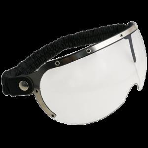 Occhiali-Da-Casco-Moto-Scooter-Vespa-CGM-750V-CUSTOM-Silver-Lente-Trasparente