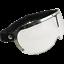 Occhiali-Da-Casco-Moto-Scooter-Vespa-CGM-750V-CUSTOM-Silver-Lente-Trasparente miniatura 1
