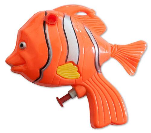 Wasserpistolen Wasserpistole Clownfisch 13 cm Spritzpistolen Wasserspritze Spielzeug Großhandel & Sonderposten