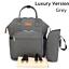 Luxury-Multifunctional-Baby-Diaper-Nappy-Mummy-Backpack-Waterproof-Changing-Bag thumbnail 22