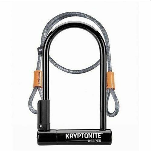 Kryptonite Vélo Lock-Keeper standard 12 U-Lock avec 4 ft Câble Kryptoflex environ 1.22 m