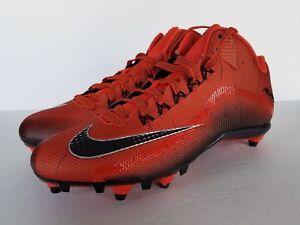 Details about Nike Alpha Pro 2 34 D Football Cleats 705409 800 OrangeBlack Mens 13