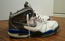 Nike Air Flight Falcon, 397204-140, White/Blue, Men's Basketball Shoes, Size 12