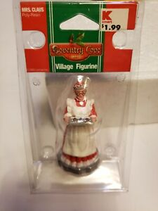 """~NEW~ 2005 Lemax Coventry Cove """"MRS. CLAUS"""" Figurine Christmas Holiday Village"""