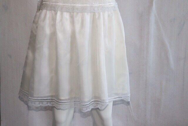 Gunne Sax Ivory Dress Girls Short Sleeve Jessica … - image 5