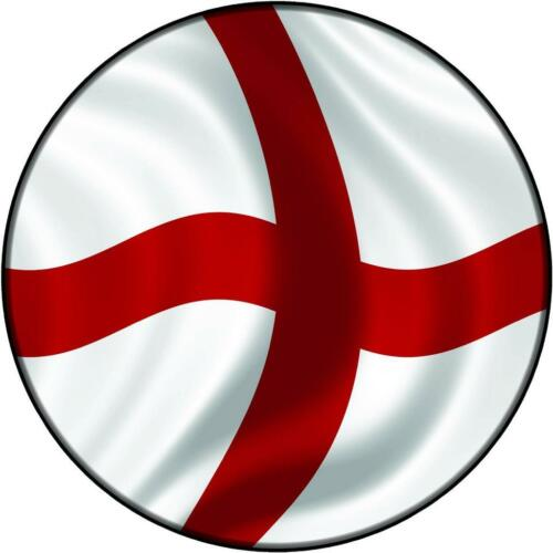 Spare Wheel Cover Sticker ST GEORGE ENGLAND FLAG 4x4 Land Rover Rav4 Vitara