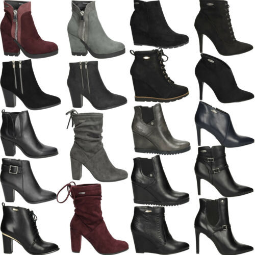 Femmes Bottines Bottes BIG STAR boots paragraphe Hiver Chaussures Chaud Taille 36-41 Neuf