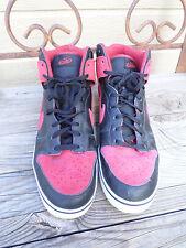 Nike Dunk High SE 6.0 Red/Black Shoes  454056-002  Men's 12