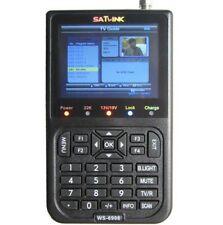 "Original Satlink WS6908 3.5"" LCD DVB-S FTA Digital Satellite Signal Finder Meter"