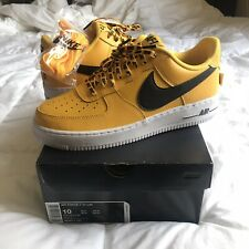 cheap for discount 75d40 d587d DEADSTOCK Nike Air Force 1 Low NBA 07 LV8 Amarillo Yellow 823511-701 Mens