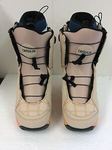 Celsius 2013-14 Cosmo Ozone SL O.Zone Speed Lace Beige US Size 8 Boots 8062142