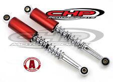 Honda CT70 KO Rear Shocks, Candy Ruby Red, Pair, CHP Non-OE