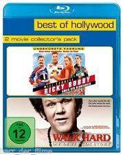 RICKY BOBBY, König der Rennfahrer + WALK HARD (Extended Vers.) 2 Blu-ray Discs