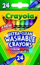 Crayola Washable Crayons-24/Pkg 52-6924