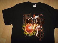 Tim Lincecum - San Francisco Giants Baseball Long Hair Pitcher 2010 T Shirt Lrg