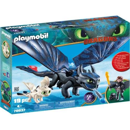 Playmobil Dreamworks Dragons Hiccup /& Toothless with Baby Dragon 70037