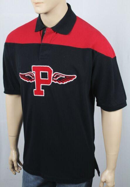 ba3eb56e7ac5 Polo Ralph Lauren RARE Varsity Big P Wing Wings Patch Pony Shirt ...