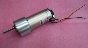 Pittman-Ametek-GM9236E008-R11-Gear-Motor-19-1-VDC-Ratio-19-7-1-100-CPR-Encoder
