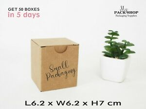 Mini-Cardboard-Boxes-Small-Shipping-Mailing-Gift-Wrapping-Box-6x6x7cm-Packaging