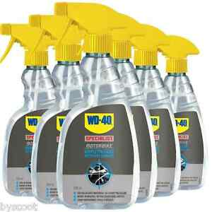 wd40 moto  6x WD-40 specialist moto nettoyant complet spray NEUF cleanwash ...