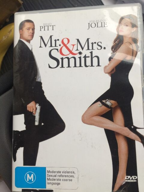 Mr. & Mrs Smith Dvd