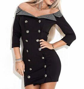 By-Alina-Damenkleid-Partykleid-Longshirt-Minikleid-Tunika-Kleid-34-38-C712