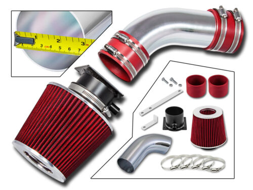 Filter BCP RED 96-00 A4 A6 Cabriolet 2.8L V6 Ram Air Intake Racing System