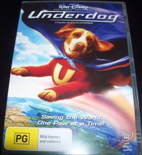 1 of 1 - Undergdog - Walt Disney (Australia Region 4) DVD - Like New