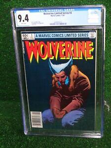 CGC-Comic-graded-9-4-Wolverine-Ltd-Series-Marvel-3-HOT-Key-issue