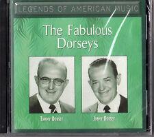 Legands of American Music-The Fabulous Dorseys- CD -New
