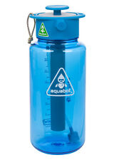 Lunatec Aquabot Sport Water Bottle with mist, shower and stream patterns. A1057