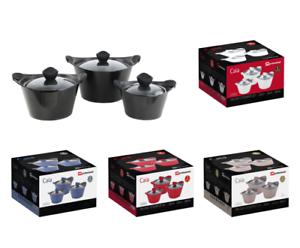 3pc-Caia-Non-Stick-Die-Cast-Cooking-Pot-Casserole-Dish-Pan-Stockpot-Cookware-Set