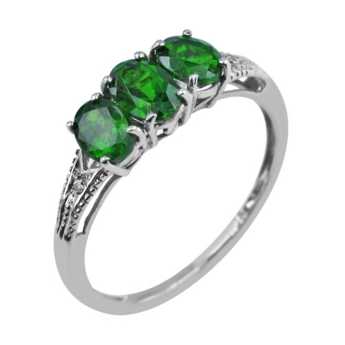 Details about  /Chrome Diopside Gemstone Anniversary Jewelry 14k Rose Gold Ring