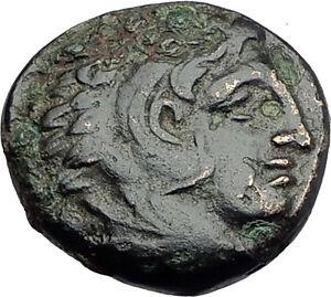 ALEXANDER-III-the-Great-325BC-Macedonia-Ancient-Greek-Coin-HERCULES-CLUB-i62741