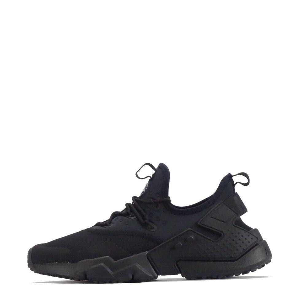 Nike Air Hurache Drift Baskets homme en noir/blanc- Chaussures de sport pour hommes et femmes