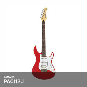 yamaha pac112j pacifica electric guitar solid alder maple neck nib freeems red 600164757569 ebay. Black Bedroom Furniture Sets. Home Design Ideas