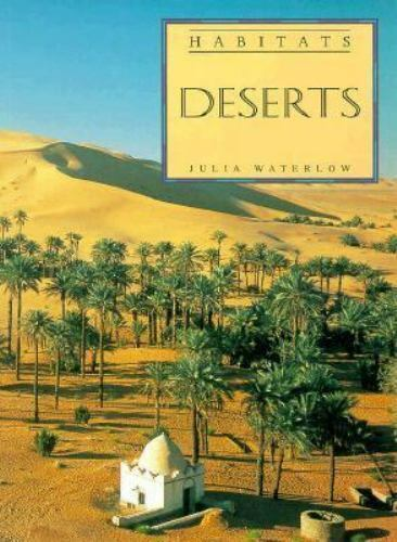 Deserts (Habitats) by Waterlow, Julia