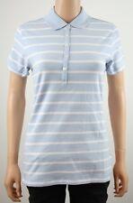 Tommy Hilfiger Golf Sky Blue Stripe Polo Shirt TW101 - M