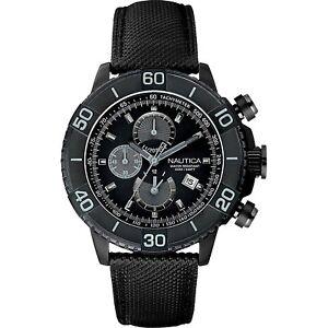 Orologio-Nautica-Cronografo-Pelle-e-Resina-Grigio-Uomo-A20062G