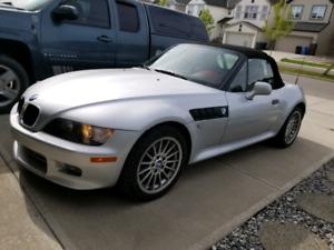 2001 BMW z3 3.0l roadster convertible