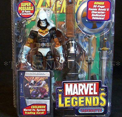 New TASKMASTER Action Figure Marvel Legends LEGENDARY RIDER Series TOY BIZ 2005