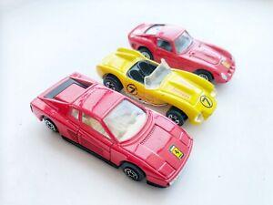 Maisto-Race-Team-Ferrari-automobili-e-camion-3-auto-un-camion