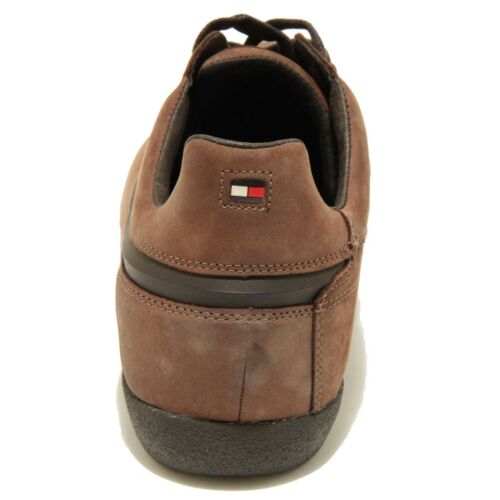 2864g Men Nabuk Marrone Soft Shoes Scarpa Hilfiger Oil Tommy Sneaker Uomo rEUqxyw0rv