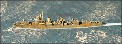 GHQ 1//2400 WWII Micronauts Japanese Destroyer Hatsuharu IJN-38