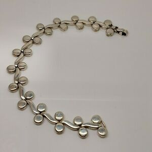 Solid Sterling Silver 925 heavy chain bracelet jewellery  Q97-33