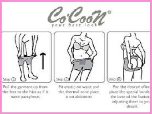 Shapewear Mid-Thigh Push-Up Panty Bottom Lifter Levanta Cola Cocoon Ref 1733
