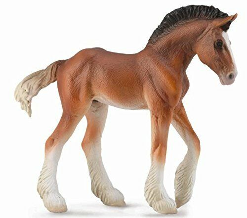 Breyer Horses Corral Pals Bay Clydesdale Foal #88625
