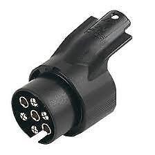 MAYPOLE-13-7-pin-Euro-socket-plug-adaptor-for-trailers-caravans