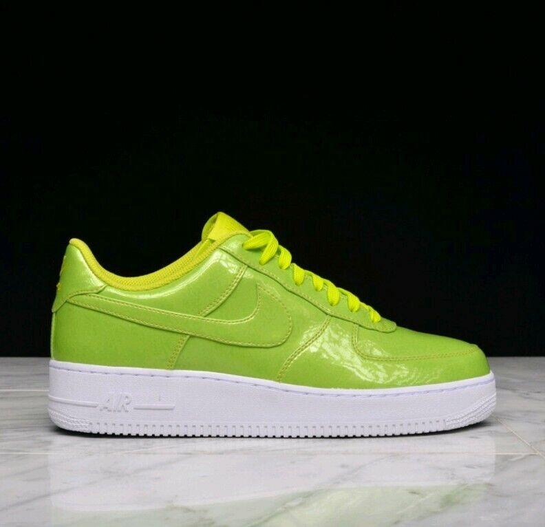 Talla 9 hombres Nike Air Force 1 '07 Lv8 UV zapatillas verde blanco zapatillas AF1