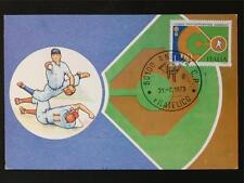 Italia MK 1973 ITALY BASEBALL maximum carta carte MAXIMUM CARD MC cm c6985